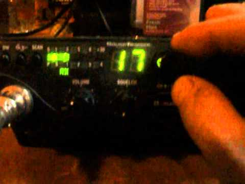 pyramid ps3 3kx power supply on Cobra 18 WX ST II CB Radio