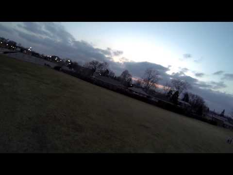 TBS DISCOVERY DJI QUAD 450 FIRST FPV FLIGHT