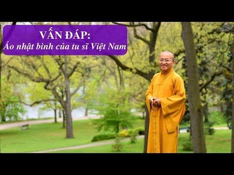 Vấn đáp: Áo nhật bình của tu sĩ Việt Nam