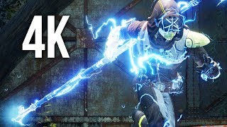 DESTINY 2 4K PS4 PRO Gameplay - HUNTER ARCSTRIDER (No Commentary)