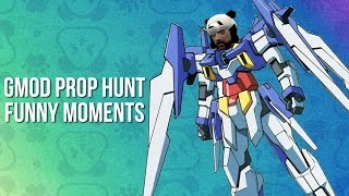 Hide the Hentai and Unleash the Weeb! - GMOD PROP HUNT FUNNY MOMENTS