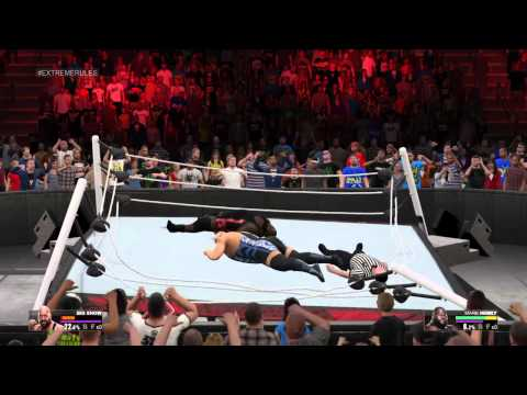 WWE 2K15 PS4 - New Ring Break Animation OMG MOMENT!