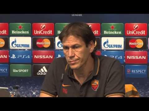 Roma, Rudi Garcia: 'Col Manchester City senza paura'