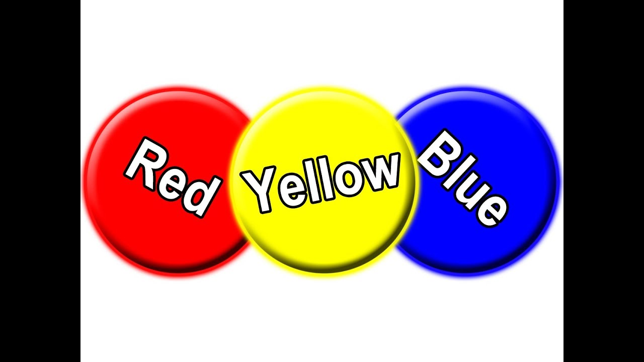 Quot Red Circle Blue Circle Yellow Circle Quot Learn Colors For Colors For Toddlers