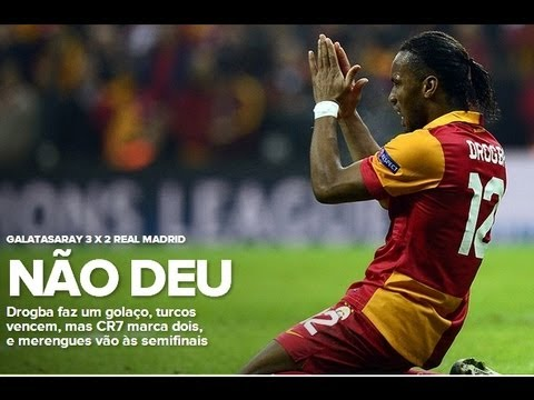 Galatasaray 3x2 Real Madrid All Goals 09/04/2013