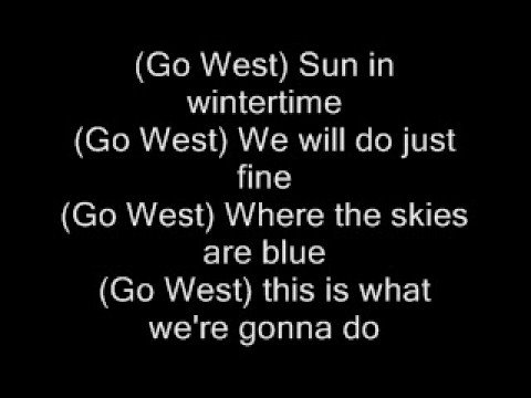 pet shop boys - go west - lyrcs