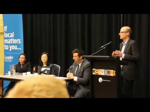 Question on Cycling Infrastructure at Moreland Transport Forum - vicvotes2014