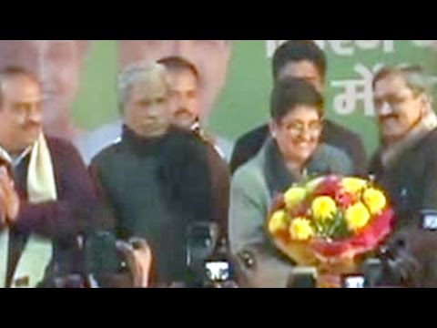 Yes, it's Kiran Bedi vs Arvind Kejriwal for Delhi