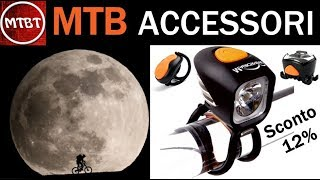 MTB accessori Luce notturna Magicshine MJ 902 12% sconto - bike light combo mountain biking tube