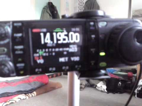 DX sunday on icom ic-7000 dipol 20m 21.02.2010