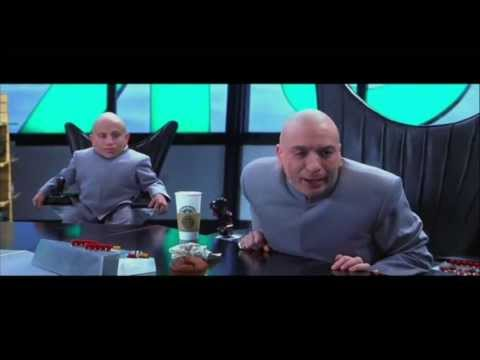 Zip It! - Dr. Evil - Austin Powers movie scene