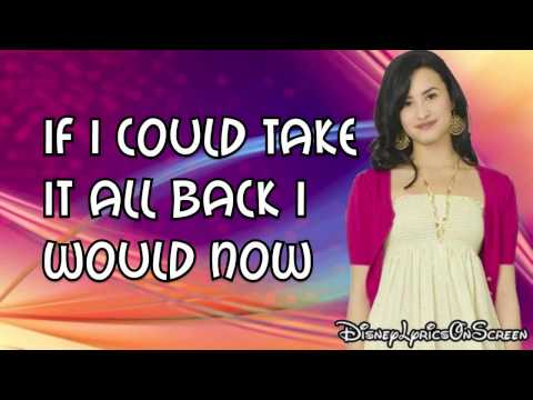 Camp Rock 2 - It's Not Too Late (lyrics On Screen) Hd video