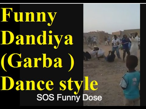 Funny Dandiya Garba  Dance style by Muslim People in South Africa New Whatsapp video 2015