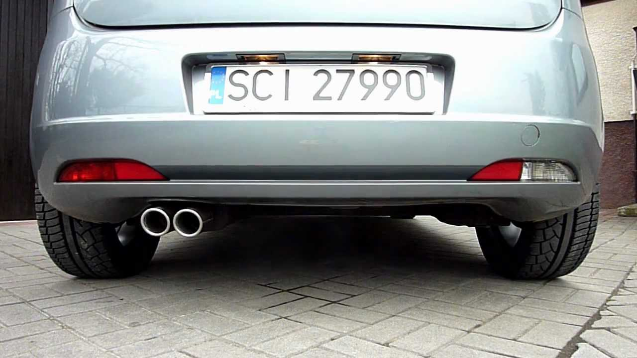 Fiat Grande Punto And Ulter Sport Exhaust Youtube