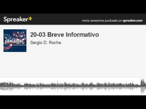 20-03 Breve Informativo (hecho con Spreaker)