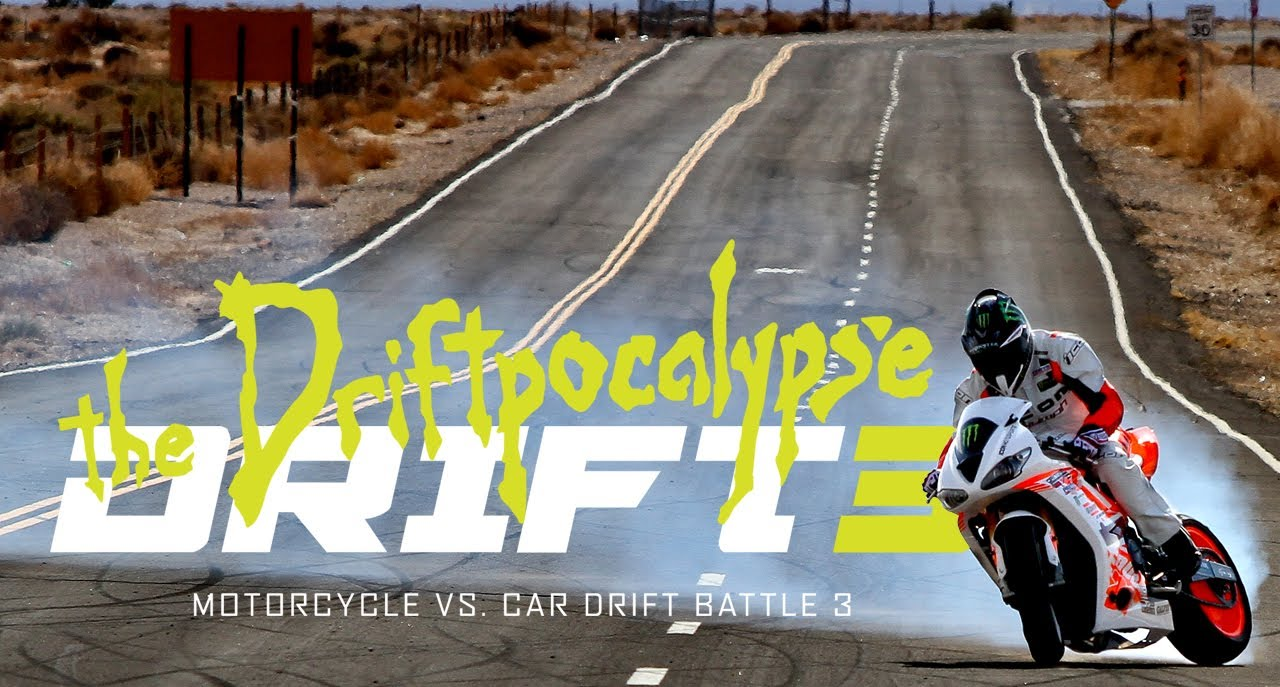 Bikes Vs Cars Drifting Motorcycle vs Car Drift