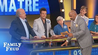 THIS ANSWER made Steve WALK OFF THE FEUD!!! | Family Feud