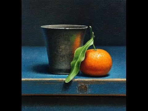 Clementine still life old master inspired