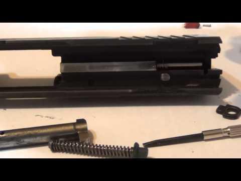 Taurus PT638 PRO SA - Lubrificação em partes extras do sistema de percussão