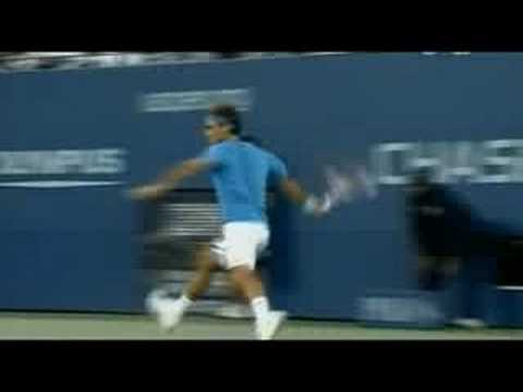 Roger Federer Repertory: The Forehand Video