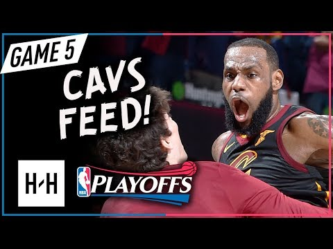 LeBron James Full Game 5 Highlights vs Pacers 2018 Playoffs - 44 Pts, 10 Reb, Game-Winner! Cavs Feed