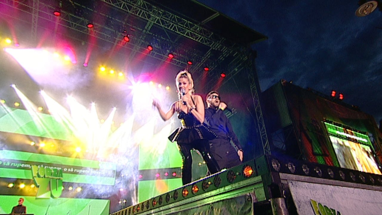 Andreea Banica si Shift - Rupem boxele / Acelasi iubit (Live la Forza ZU 2015)