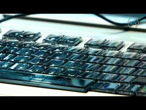 Необычные клавиатуры:роскошная, геймерская, гламурная
