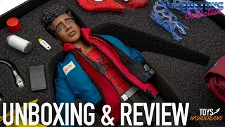 Miles Morales 1/6 Scale Figure Spider-Man Into the Spider-Verse Young Rich Toys Unboxing & Review