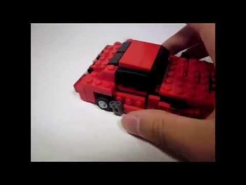 Lego Transformers Prime- Cliffjumper
