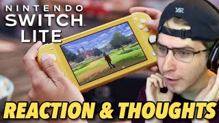 Nintendo Switch Lite REACTION & THOUGHTS!
