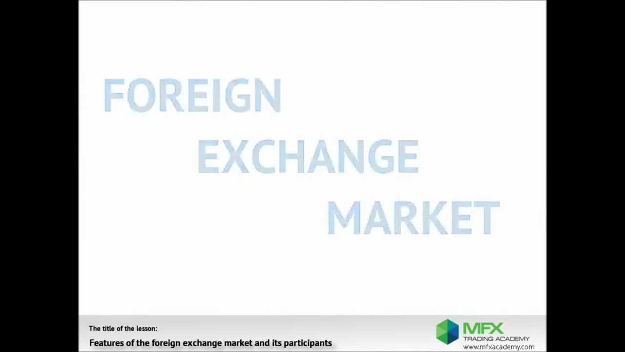 Basics Of Foreign Exchange Market On Forex