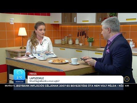 Lapszemle - Kunfalvi Nóra - ECHO TV