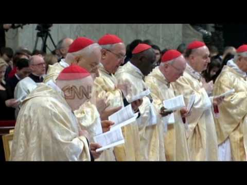 VATICAN: POPE FRANCIS NEW YEAR MASS