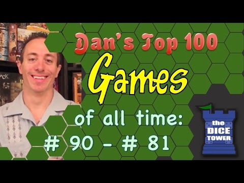 Dan's Top 100 Games of all Time: # 90 - # 81