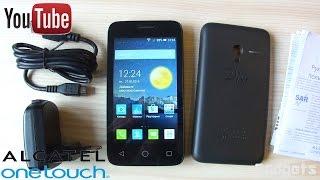 Alcatel One Touch PIXI 3 4013D Обзор смартфона новинки+Тест игр