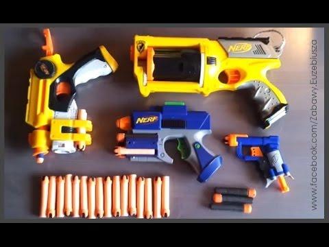 Pistolety NERF - Super Zabawa Cz.1