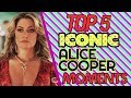 TOP 5 ICONIC ALICE COOPER Moments