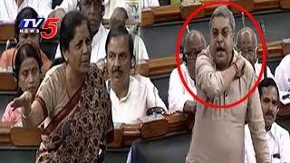 లోక్సభలో మాటల యుద్ధం..! | Nirmala Sitharaman Fires In Lok Sabha | No Confidence Motion
