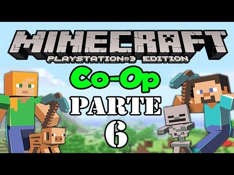 Lets Play: Minecraft PS3 Co Op Parte 6