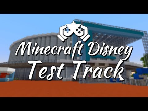 Minecraft Disney World Episode 7 - Test Track