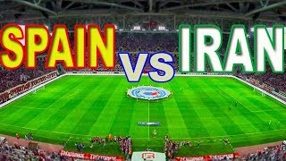 SPAIN VS IRAN live 2018 fifa world cup watch an exciting match