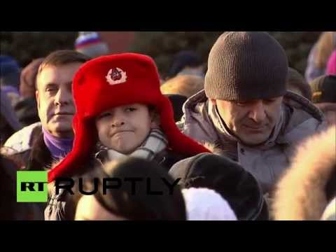 Russia commemorates legendary 1941 Red Square military parade! World news today 07.11.2015