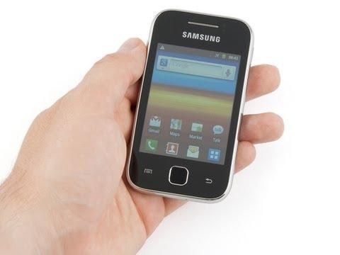Samsung Galaxy Y Review