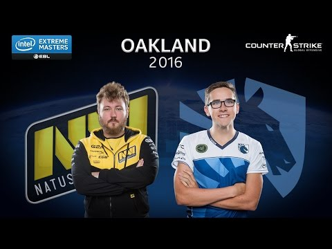 CS:GO: Natus Vincere vs. Team Liquid [Nuke] - Group A - IEM Oakland 2016