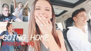 SURPRISING OUR FAMILY WITH THE NEWS!! (Going Home - Episode Two)