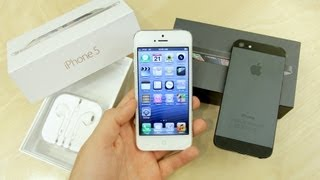 Dual White vs Black iPhone 5 Unboxing! (2012)