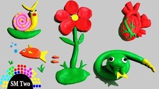 Đồ chơi bé gái Trò chơi nặn đất nặn 7 màu cho trẻ em giocattoli per bambini Хүүхдийн тоглоом SM Two