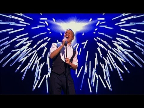 Jahmene Douglas sings Robbie Williams' Angels - The Final - The X Factor UK 2012