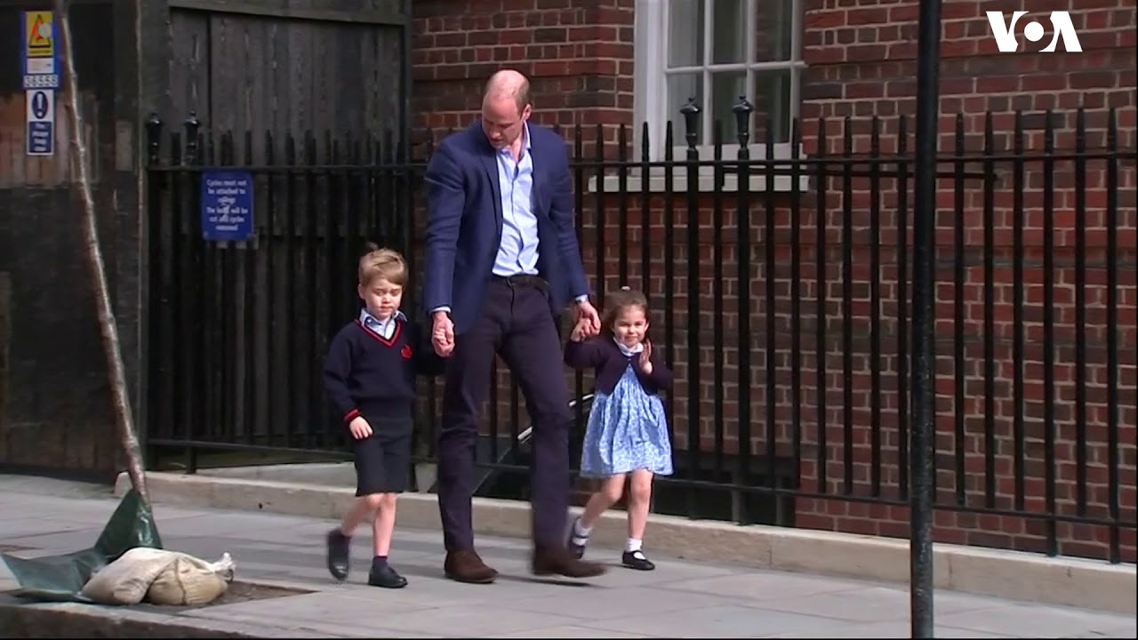 Prince William Brings Children to See the New Royal Baby