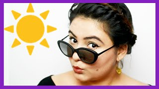 SWEAT PROOF Makeup for INDIAN summer {Delhi fashion blogger}